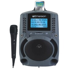 "Portable Karaoke MP3 Lyric Player with 3"" Lyric Sreen, SD Slot and 150 Songs"