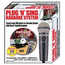 Plug N Sing Karaoke Microphone