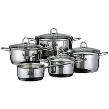 Rubin 5 Piece Cookware Set