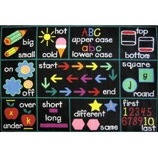 Fun Time Learning Kids Rug