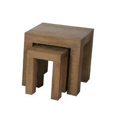 <strong>Solway Furniture</strong> Bobo Solid 2 Piece Nest of Tables