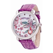 Women's Garden Watch in Purple