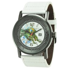 Men's Kombat Panther Watch in White