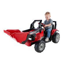 Case IH Power Scoop 12V Battery Powered Tractor