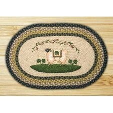 Shamrock Patch Rug
