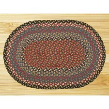 Burgundy/Blue Multi Rug