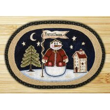 Freezin Season Novelty Rug