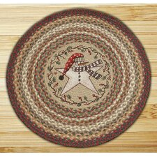 Snow Star Novelty Rug