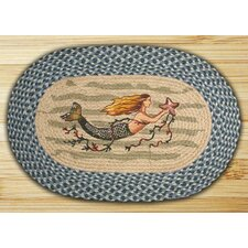 <strong>Earth Rugs</strong> Mermaid Novelty Rug