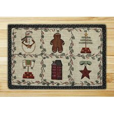 Winter Patch Novelty Rug