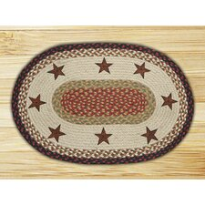 Barn Stars Novelty Rug