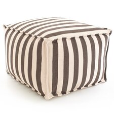 <strong>Dash and Albert Rugs</strong> Fresh American Trimaran Stripe Cube Ottoman