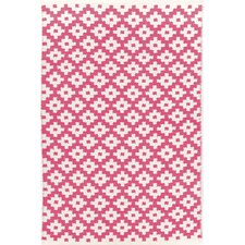 Samode Fuchsia Pink Indoor/Outdoor Area Rug