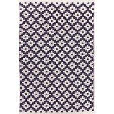Samode Navy/White Indoor/Outdoor Area Rug