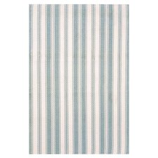 Woven Coastal Living Light Blue/Ivory Indoor/Outdoor Rug