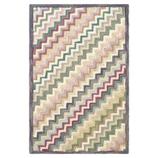 Hooked Steps Chevron Area Rug