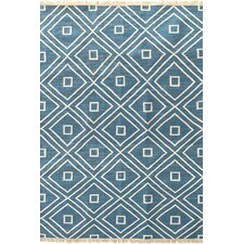 "Mali Indigo Indoor/Outdoor Rug 30"" x 96"""