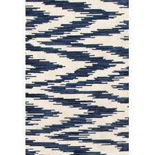 Chekat Ink Micro Hooked Indoor/Outdoor Rug 8' x 10'