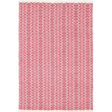Fair Isle Red / Ivory Rug