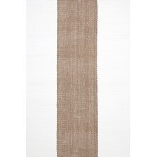 Woven Lakehouse Khaki/White Indoor/Outdoor Rug