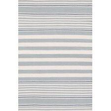 Indoor/Outdoor Beckham Blue Striped Outdoor Area Rug