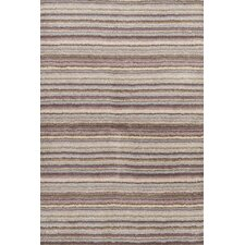 Tufted Wool Brindle Striped Rug