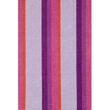<strong>Dash and Albert Rugs</strong> Woven Cotton Quartz Striped Rug
