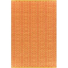 <strong>Dash and Albert Rugs</strong> Fair Isle Paprika/Curry Geometric Rug