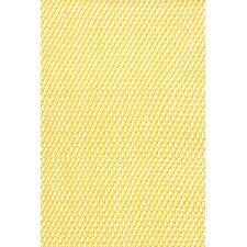 <strong>Dash and Albert Rugs</strong> Two Tone Rope Daffodiil/White Indoor/Outdoor Rug