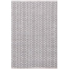 <strong>Dash and Albert Rugs</strong> Fair Isle Grey/Platinum Geometric Rug