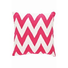<strong>Dash and Albert Rugs</strong> Fresh American Chevron Polypropylene Pillow
