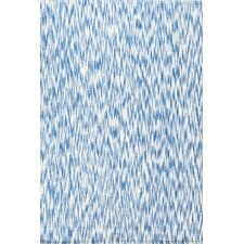 <strong>Dash and Albert Rugs</strong> Ikat Blue Chenille Rug