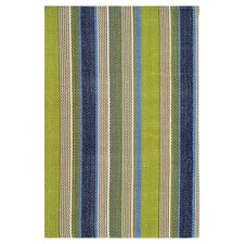 Pueblo Woven Marina Stripe Indoor/Outdoor Area Rug