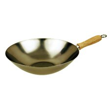 "<strong>Fox Run Craftsmen</strong> 12"" Carbon Steel Wok"