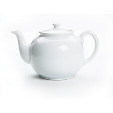 <strong>Fox Run Craftsmen</strong> Peter Sadler Teapot in White
