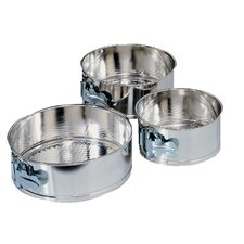 3-Piece Mini Springform Pan Set