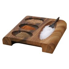 Ironwood Gourmet Rectangular Condiment Server