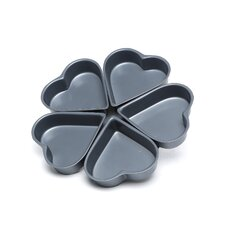 <strong>Fox Run Craftsmen</strong> Non-Stick Linked Heart Pan