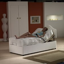 Milano Quilted Open Coil Sprung Medium Firm Mattress with Damask Cover