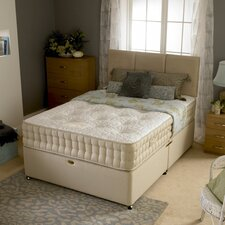 Elegance Open Coil Sprung Support Mattress with Damask Cover