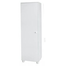 One Door Storage Cabinet in White