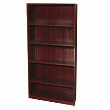 Five Tier Bookcase in Mahogany