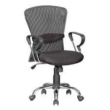 <strong>Hazelwood Home</strong> High-Back Mesh Office Chair with Arm Rest