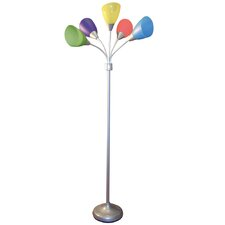 5 Light Floor Lamp