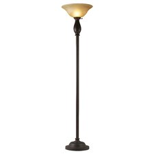 <strong>Hazelwood Home</strong> Torchiere Floor Lamp