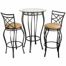 "3 Piece 42"" Pub Table Set"
