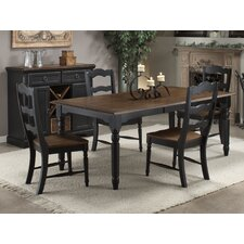 <strong>Imagio Home by Intercon</strong> Princeton 5 Piece Counter Height Dining Set