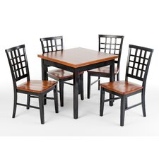 <strong>Imagio Home by Intercon</strong> Siena 5 Piece Dining Set