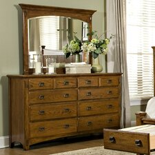 Pasilla 8 Drawer Dresser