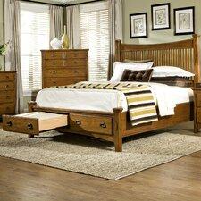 Pasilla Storage Panel Bed